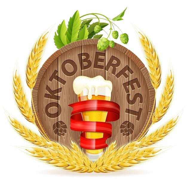 Oktoberfest Vecteur Premium