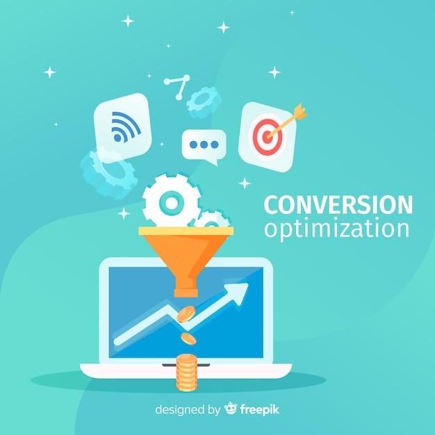 Optimisation De La Conversion Vecteur gratuit