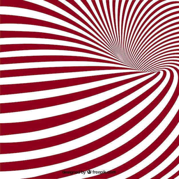 Optique illusion fond Vecteur gratuit