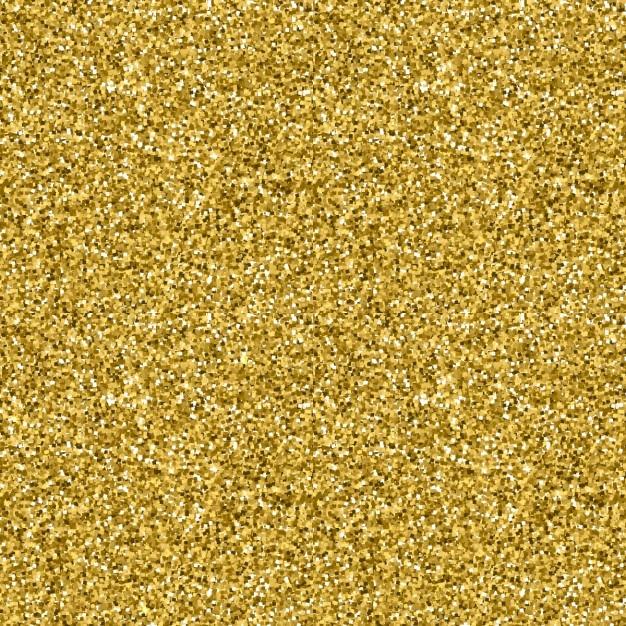 Or Glitter Texture Seamless Style Or Vector Design Célébration Fond Métallique Vecteur gratuit