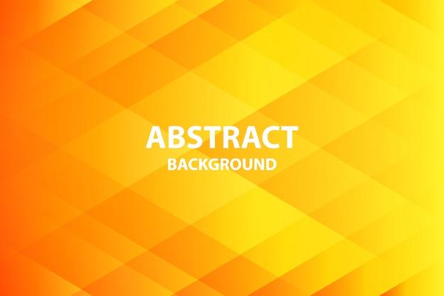 Orange douce et foncé avec fond abstrait jaune Vecteur Premium