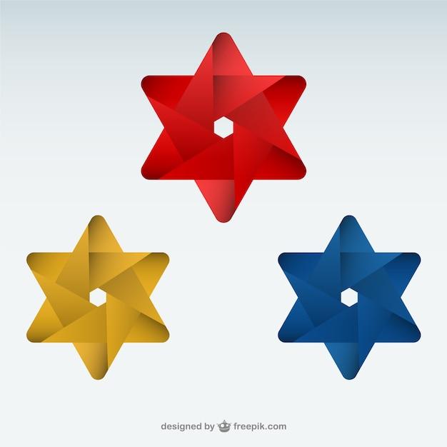 Origami toiles logo mod le t l charger des vecteurs gratuitement - Modele origami facile ...