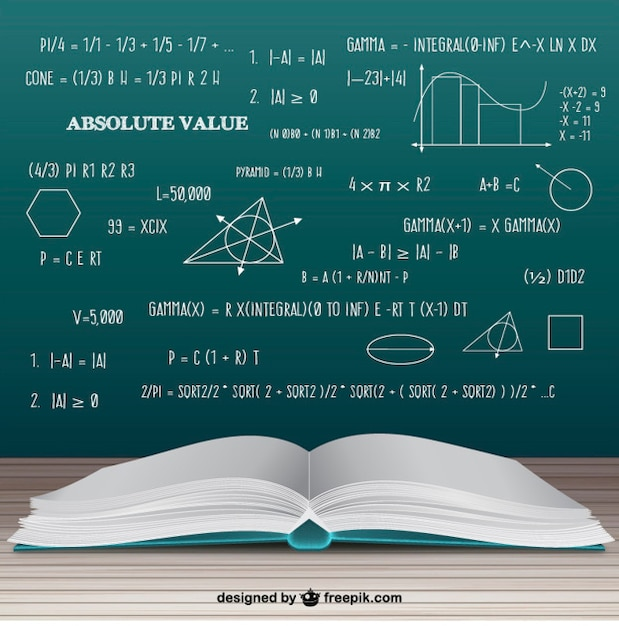 ouvrir livre de maths