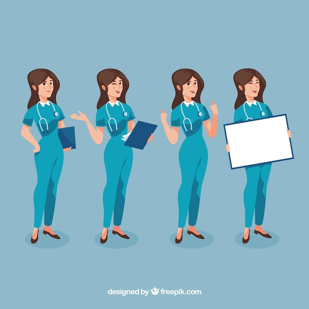 Pack De Bonne Femme Chirurgienne