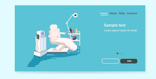 Page De Destination Pour L'épilation Médicale Vecteur Premium