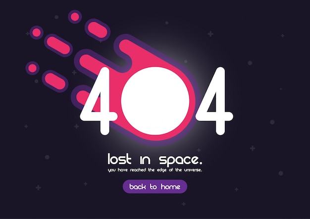 Page d'erreur 404 Vecteur Premium