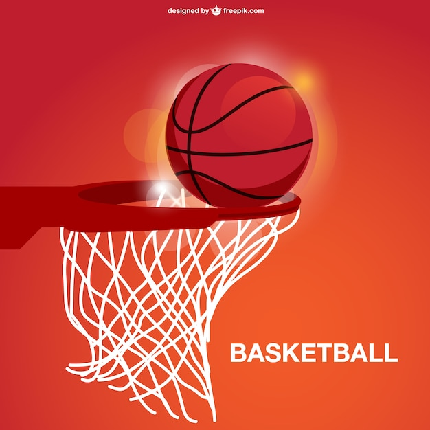 Panier De Basket Vecteur Vecteur Gratuite
