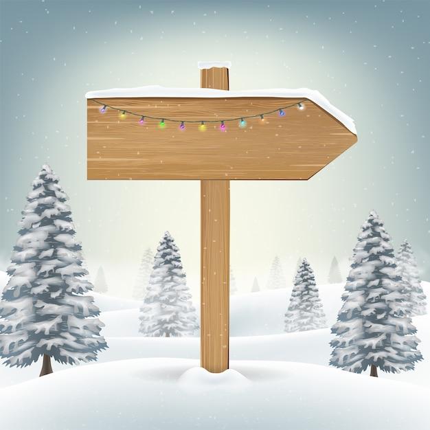 En Bois Noël Signes