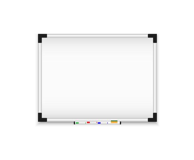 Panneau Mural Magnétique. Tableau De Conférence Réaliste. Vecteur Premium