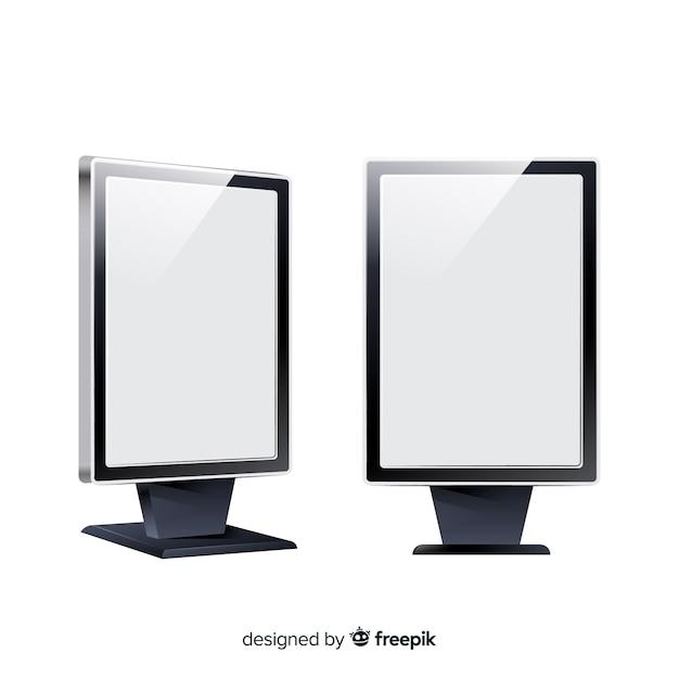 Panneaux d'affichage Vecteur gratuit