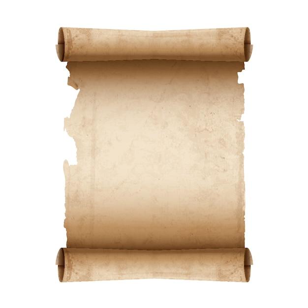 Papier Parchemin Ancien Vecteur Premium