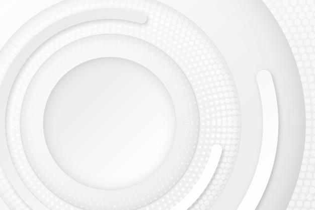 Papier Peint Abstrait Blanc Vecteur gratuit