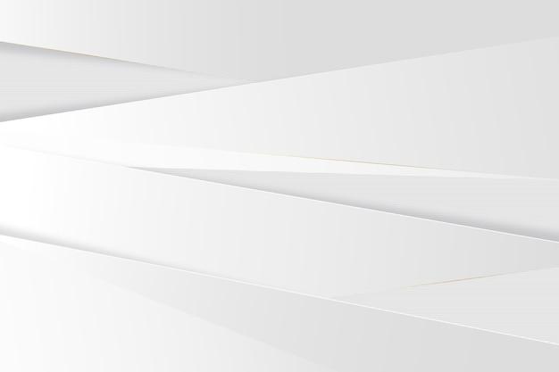 Papier Peint élégant Texture Blanche Vecteur Premium