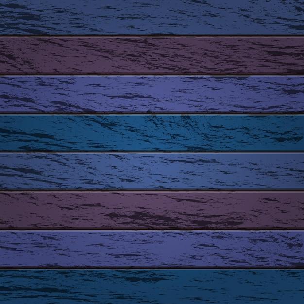 Papier Peint De Fond De Texture De Bois Vieilli De Couleur Bleue Et Violette Vecteur Premium