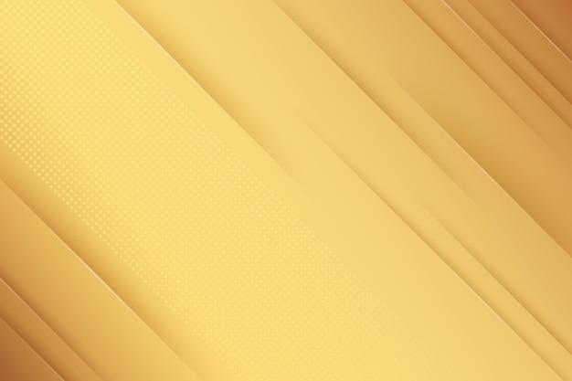 Papier Peint De Luxe Doré Minimaliste Vecteur gratuit