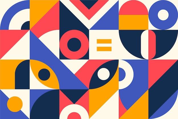 Papier Peint Mural Géométrique Vecteur gratuit