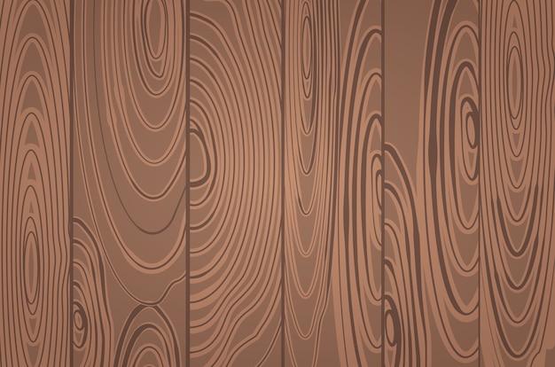 Papier Peint à Planche Horizontale En Bois Panoramique Vecteur gratuit