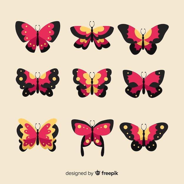 Papillons Vecteur gratuit