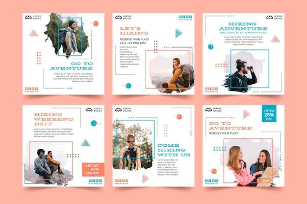 Parcourir Les Publications Sur Les Réseaux Sociaux Vecteur Premium