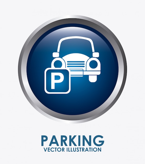Parking Vecteur gratuit