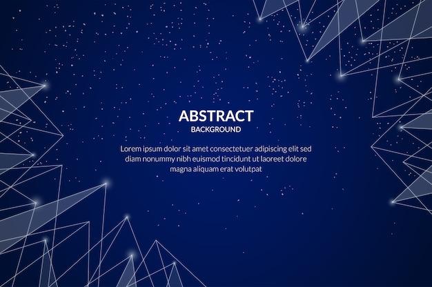 Particule De Technologie Abstraite Vecteur gratuit