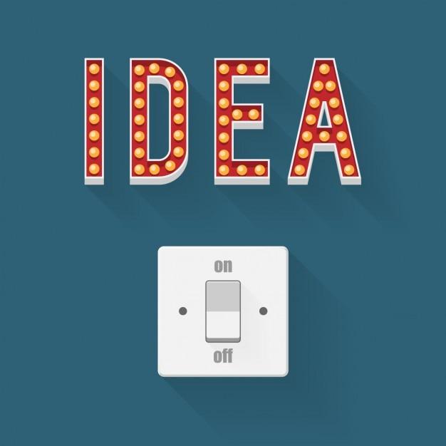 Passer Des Idées Vecteur gratuit