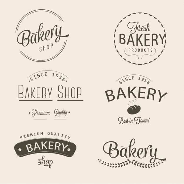 Pâtisserie Vecteur gratuit
