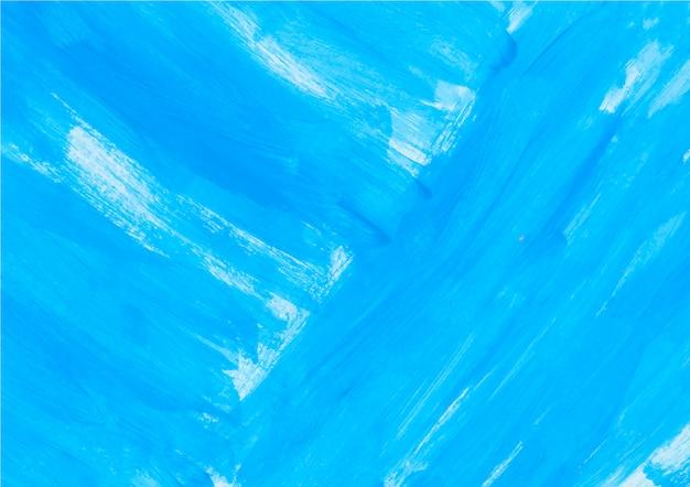Peinture Bleue Vecteur gratuit