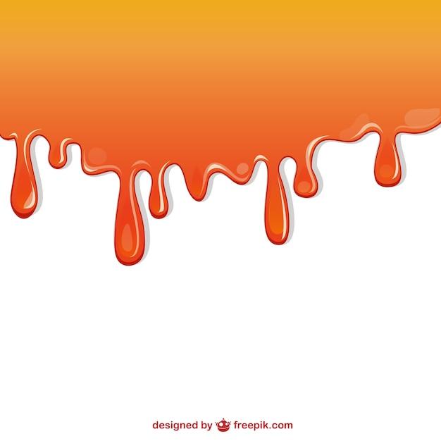 Peinture orange qui coule t l charger des vecteurs - Lampe de sel qui coule ...