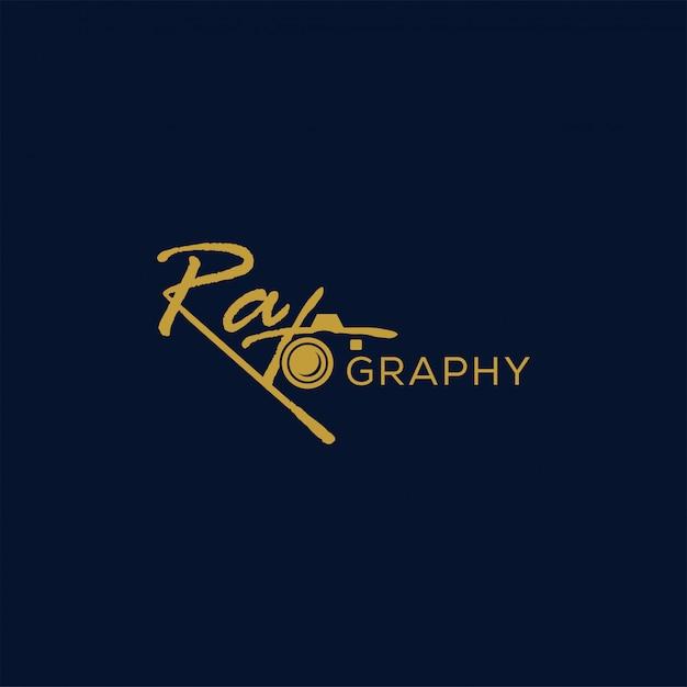 Photographie logo premium vector Vecteur Premium