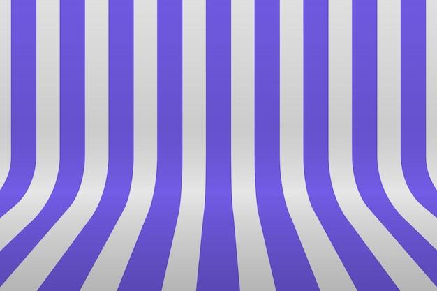 Pièce de bande de ligne de grille de perspective Vecteur Premium