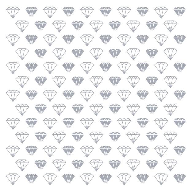 Pierre Gemme De Diamant Vecteur Premium