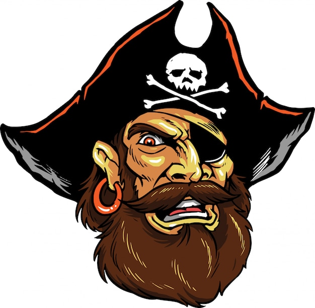 Pirate Vecteur Premium