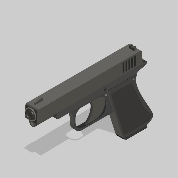 Pistolet Vecteur gratuit