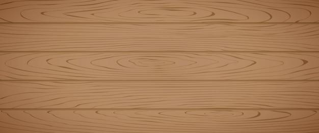 Planche de bois en épicéa brun texturé Vecteur Premium