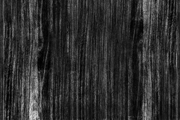 Plancher De Bois Noir Vecteur gratuit