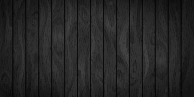 Planches De Bois Réalistes Avec Texture Vecteur Premium