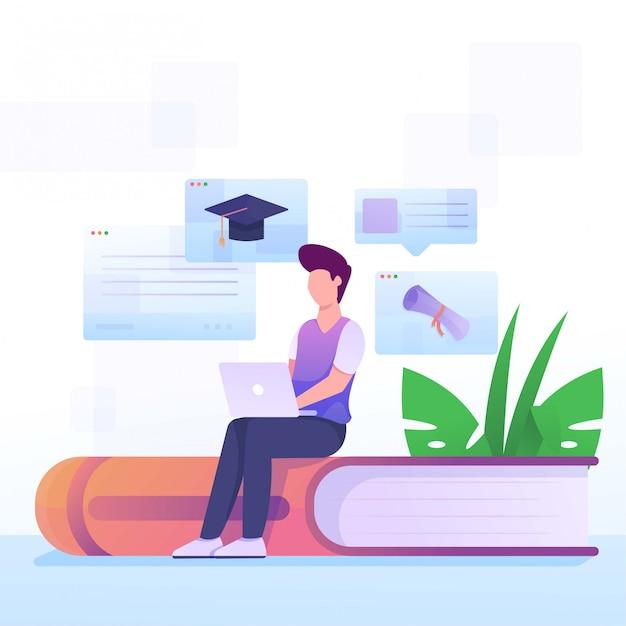 Planification De L'étude Vecteur Premium