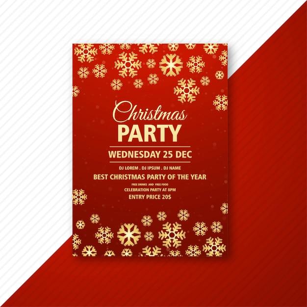 Plaque de présentation élégante fête de noël Vecteur gratuit