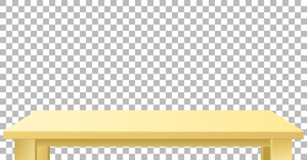 Plateau beige en bois ou en plastique clair. Vecteur gratuit