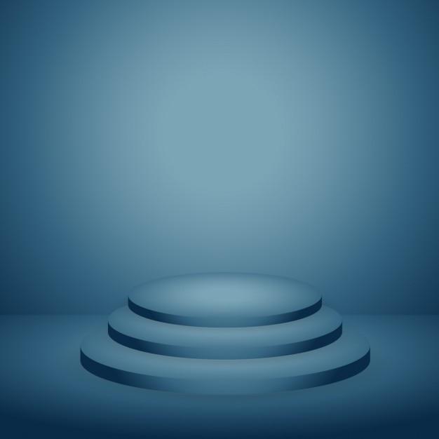podium en fond bleu fonc t l charger des vecteurs gratuitement. Black Bedroom Furniture Sets. Home Design Ideas