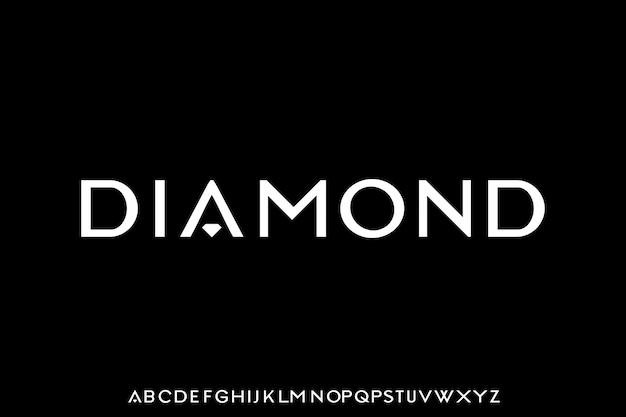 Police Diamant L'élégant Et De Luxe Vecteur Premium