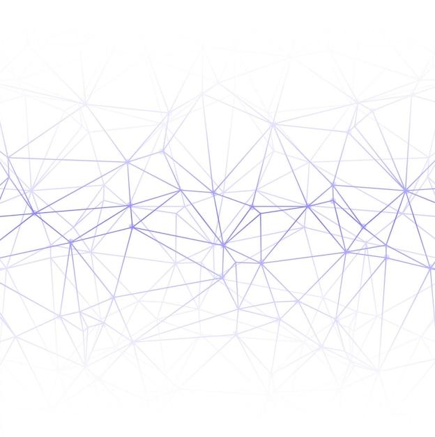 Polygon Lignes De Fond Vecteur gratuit
