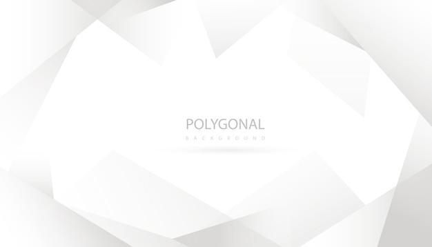 Polygonale Abstraite élégante Vecteur gratuit