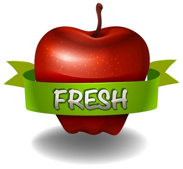 Pomme Vecteur gratuit