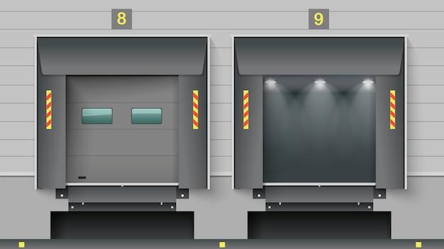 Porte cargo Vecteur Premium