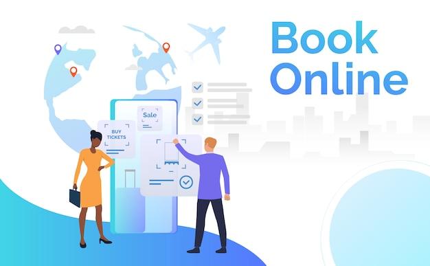 Porte-documents pour voyageurs d'affaires Vecteur gratuit