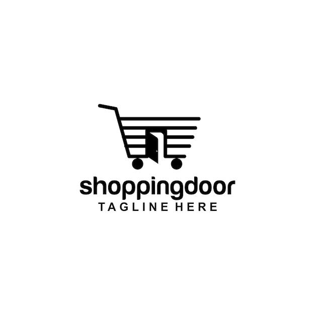 Porte logo Vecteur Premium