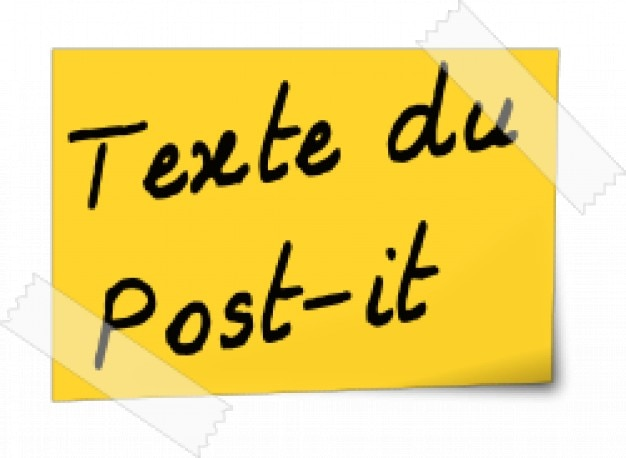 Afficher des Post-It sur un ordinateur Windows 7 - Lecoindunet