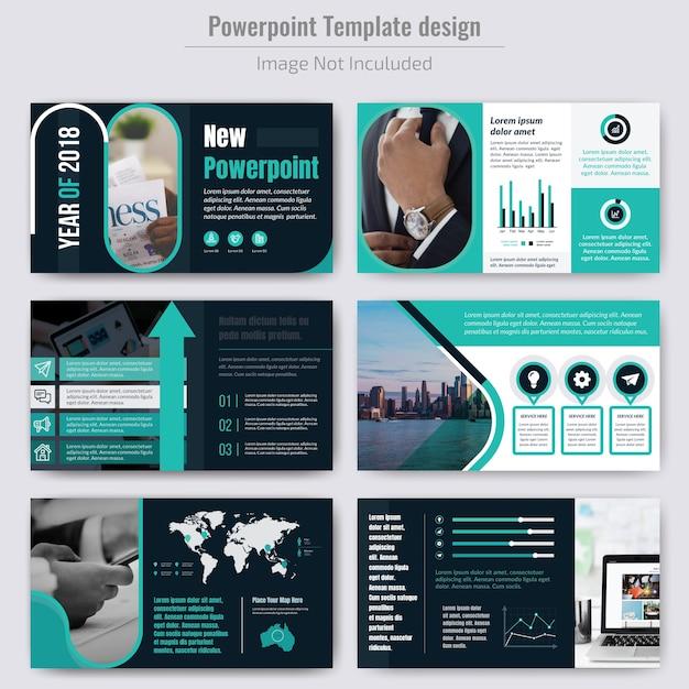 Présentation de l'entreprise avec un modèle d'infographie Vecteur Premium